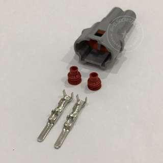 2 Pin Toyota Female & Male Socket Connector