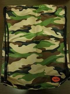 迷彩索繩袋 Camouflage Drawstring Bag