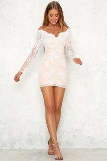 White Laced Dress