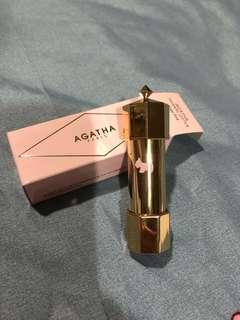 Authentic Agatha lipstick in Ange pink