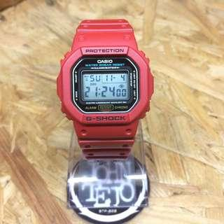 G-shock DW-5600P Red