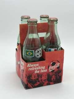Coca Cola World Cup Bottle Display
