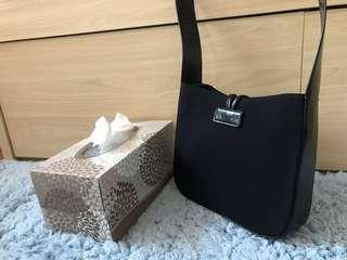 Celine vintage black shoulder bag
