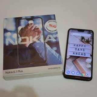 Nokia 6.1 Plus Garansi Resmi Setahun