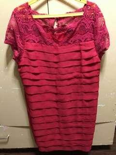 Dress red (size 4xl)
