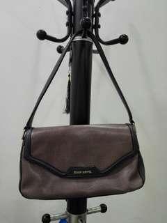 Price reduced! Original Braun Buffle Leather Handbag - Dusty Purple