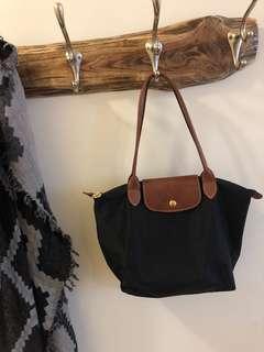 Longchamp small black purse