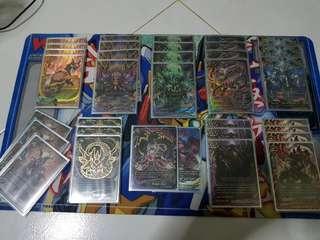 WTS Buddyfight Dragon Zwei/Drei deck