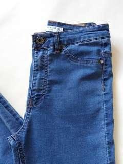 PULL & BEAR Highwaisted Denim Skinny Jeans