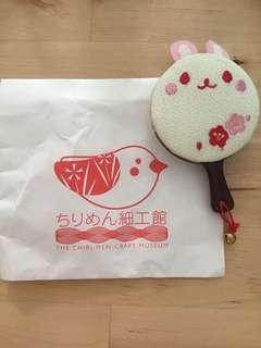日本製兔子輕便鏡子