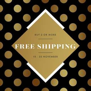 BUY 2 OR MORE FOR FREE SHIPPING