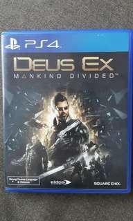 PS4 - Deus Ex Mankind Divided
