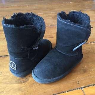 Bearpaw Winter Boots Black