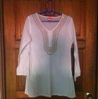 White Blouse (Kurta)