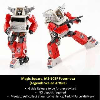 [Preorder] Magic Square, MS-B02F Fevernova (Legends Scaled Artfire)