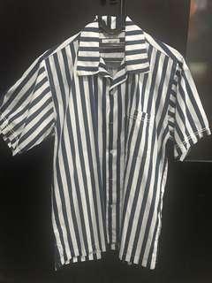 Bluesville leisure stripes shirt