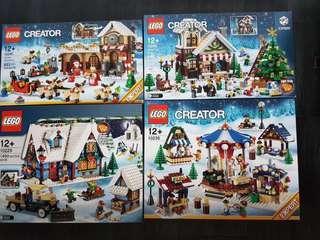 LEGO Winter Christmas 10245 10249 10229 10235 Sets
