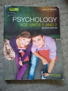 Psychology Units 1 and 2 Seventh 7th edition