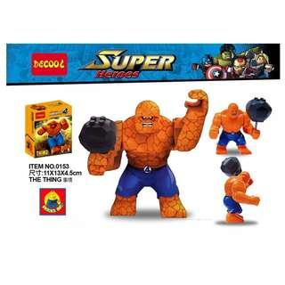 DECOOL™ 0153 Super Heroes The Thing Maxifigures