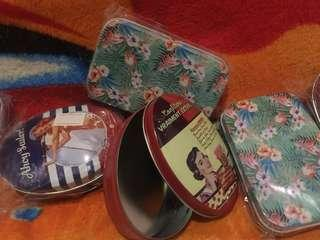 Gift tin cans