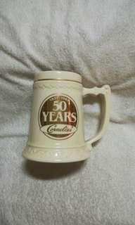 Vintage 24kt Gold 50 Years Cornelius® Ceramic Mug
