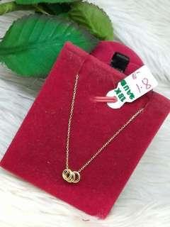 18K Saudi Gold Necklace