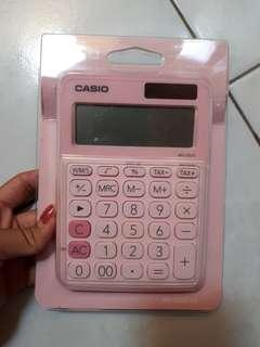 Casio calkulator pink