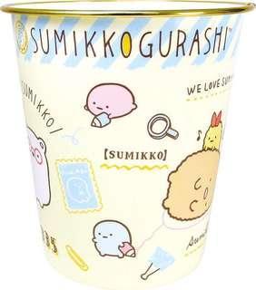 🚚 正版授權 日本 SAN-X家族 角落生物小夥伴 塑膠垃圾筒 收納筒 置物筒 垃圾筒 塑膠筒