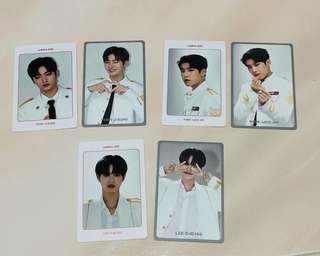 Wanna One World Tour photocard & dvd postcard