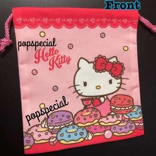 Hello Kitty Bangkok House Sweets Drawstring Pouch
