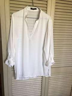 Zanzea sheer summer blouse