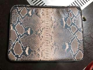 Snake Skin Laptop Bag