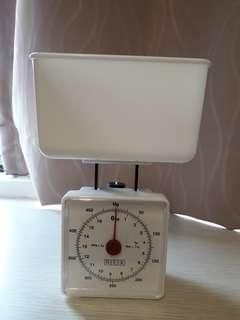 Weighing kitchen scale
