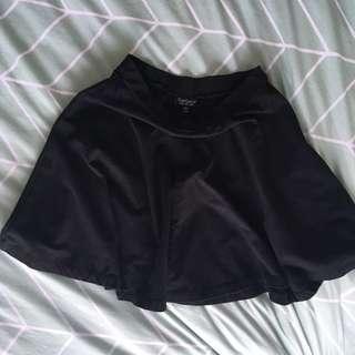 Top shop Black Skirt