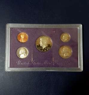 🇺🇸 1988 USA Proof Coin (5pcs Sets)