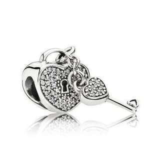 RUSH SALE! Lock of Love Charm