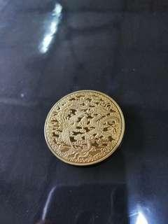 Gold Naga coin