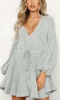 Long sleeve Winter dress