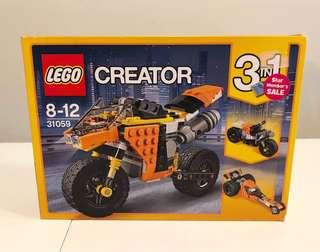 LEGO 3 in 1 Creator 31059 Sunset Street Bike