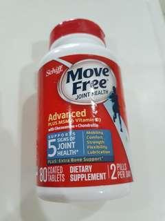Schiff Move Free Advanced Plus MSM & Vitamin D3 with Glucosamine