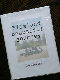 FTIsland beautiful journey CD (Philippine Release)