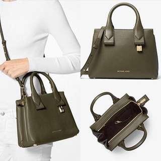Michael Kors Rollins Small Leather Bag
