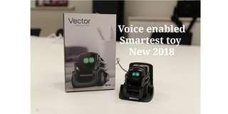 Vector Anki Smart robot by voice activated Smart home