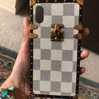 Louis Vuitton Inspired Iphone X case