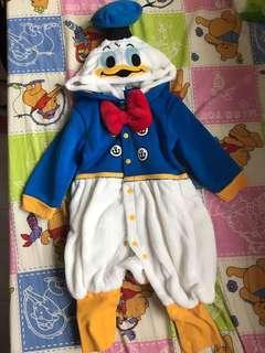 唐老鴨連身衣80碼Donald Duck
