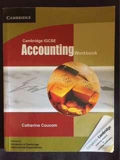 IGCSE Accounting Workbook