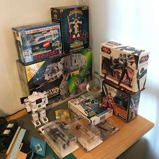 Lots of toys for sale. Enquire for more details