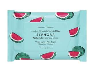 Sephora Collection Watermelon Cleansing Wipes Mini