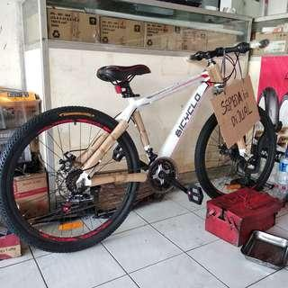 SALE NEW Sepeda BICYCLO Double Disk + 6 Speed