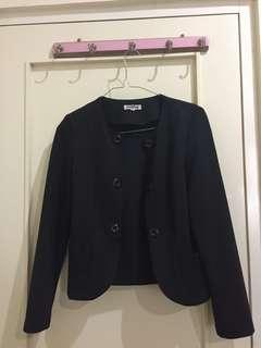 Black outwear
